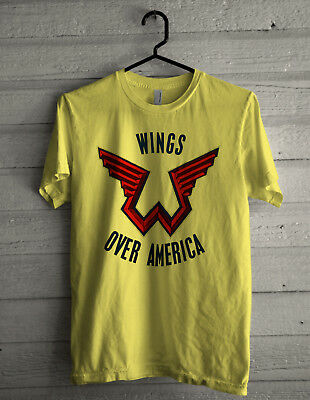 """Image result for """"Paul McCartney"""" AND """"wings"""" AND T shirt"""