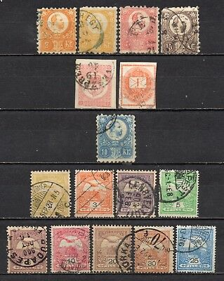 Hungary very nice mixed older era collection,stamps as per scan(5411)