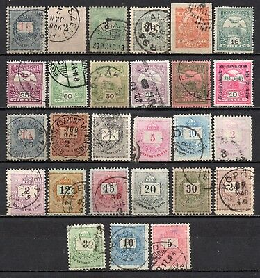 Hungary very nice mixed older era collection,stamps as per scan(5412)