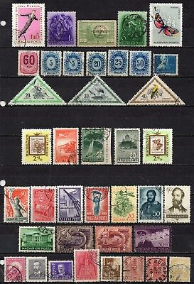 Hungary very nice mixed older era collection,stamps as per scan(5413)
