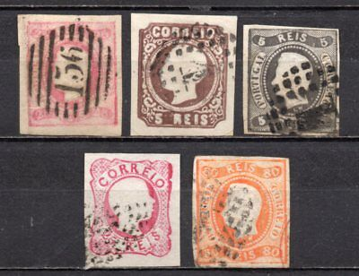 Portugal very nice mixed older era imperfs collection,stamps as per scan(5417)