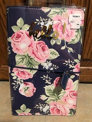 NEW Webster's Pages Travelers Notebook:  NAVY FLORAL