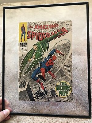 Amazing Spider-Man 64 signed By Stan Lee
