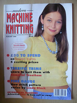 MODERN MACHINE KNITTING MAGAZINE August 1994