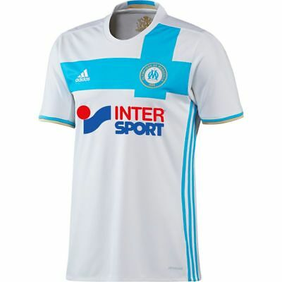 Adidas soccer jersey Olympic Marseille OM home new child size
