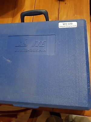 Refrigerant charging scale WS - 120