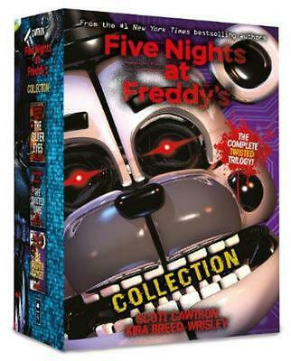 Five Nights at Freddy's Collection by Scott Cawthon Paperback Book Free Shipping
