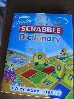 Collins Junior Scrabble Dictionary by Evelyn Goldsmith (Hardback, 2004)