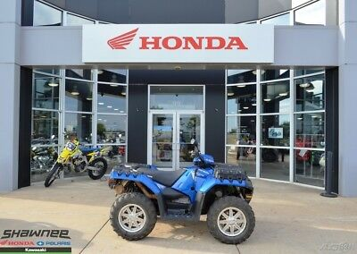 2014 Polaris Sportsman XP 850 H.O. EPS Blue Fire LE Used