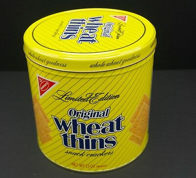 Nabisco Wheat Thins Limited Edition Tin 1987