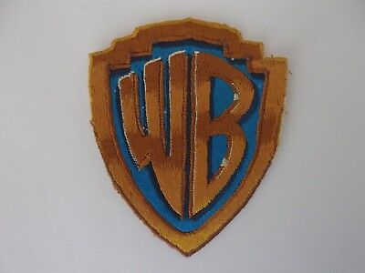 1970's WB Warner Brothers Studio Employee Uniform Patch