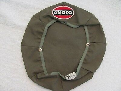 Vintage Advertising  Amoco 8 Point Hat Cover.