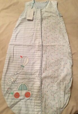 Mothercare Little Beep Beep 6-18 Months 1 Tog Snoozie Sleeping Bag...bnwt