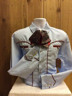 Western Mexican Shirt / Camisa Charra
