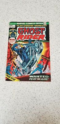 Ghost Rider #1 Vol 1 FINE + 1st Appearance of Son of Satan 1973