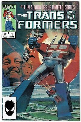 The Transformers #1 (Sep 1984, Marvel) Copper Age
