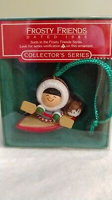 Hallmark Keepsake Ornament Frosty Friends 1985 #6 In The Series MIB