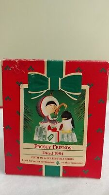 Hallmark Keepsake Ornament Frosty Friends 1984  #5 in Series