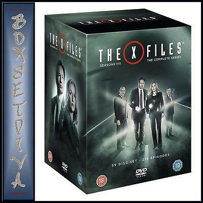 The X Files - Complete Series Seasons 1 2 3 4 5 6 7 8 9 10 & 11  Brand New Dvd