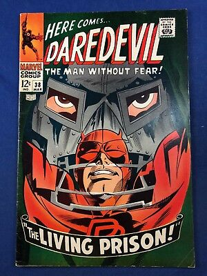Daredevil #38 (1968 Marvel Comics) Dr Doom appearance Silver Age NO RESERVE