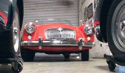 1959 MG MGA Original red leather UNRESTORED TWO OWNER MGA TWIN CAM ROADSTER