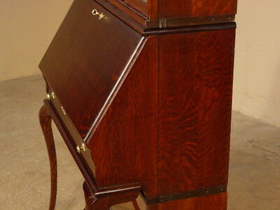 Rare Globe Wernicke Desk Legs! Desk For Reference Only! Only The Legs! Read Ad!