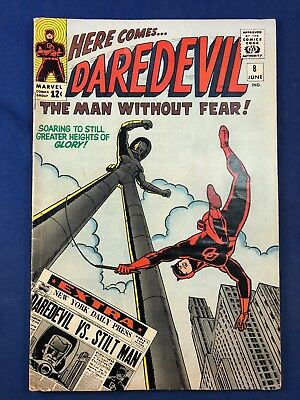 Daredevil #8 (1965 Marvel Comics) 1st appearance of the Stilt-Man Silver Age