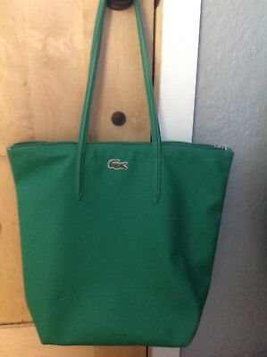 33886576450 LACOSTE TOTE BAG Red, New with out Tags - $39.99   PicClick