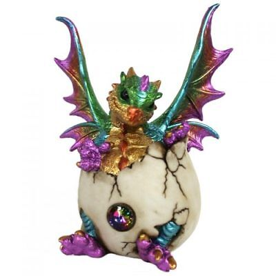 Baby Hatching Dragon Statue Figurine Ornament