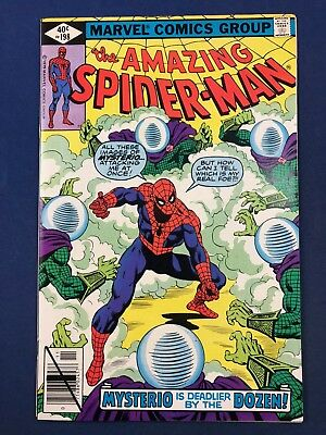 Amazing Spider-Man #198 (1979 Marvel) Mysterio appearance Bronze Age