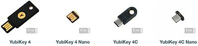YUBIKEY 4 Series - Brand NEW - DISCOUNT prices