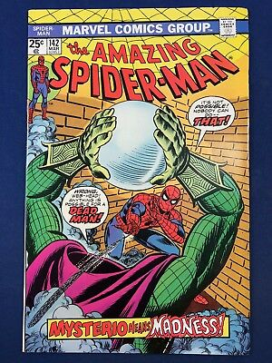 Amazing Spider-Man #142 (1975 Marvel) Mysterio appearance Bronze Age NO RESERVE