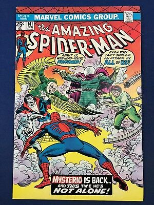 Amazing Spider-Man #141 (1975 Marvel) Mysterio appearnace Bronze Age NO RESERVE