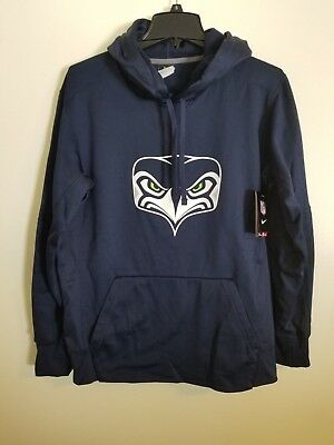 Wholesale NEW NIKE SEATTLE Seahawks Ash Gridiron Gray 2.0 Full Zip Sweatshirt