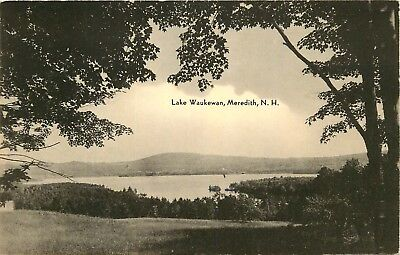Meredith, New Hampshire, NH, Lake Waukewan, 1941 Vintage Postcard c6532