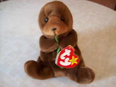 Ty Beanie Baby Seaweed 1995/1996 Tag Errors PVC Pellets Retired NEW Excellent