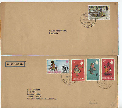 3 1950s to 1980s Gilbert & Ellice Islands covers [L.123]