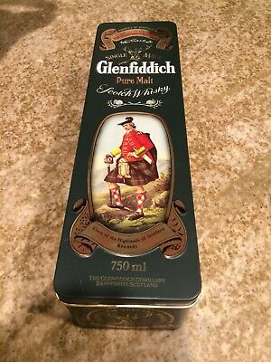 Glenfiddich Clans Of The Highlands Of Scotland Kennedy Tin