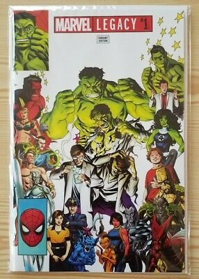 Marvel Legacy #1 - Ebay Exclusive Variant Cover - Marvel Comics One Shot