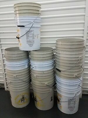 5 PK 5 GALLON buckets PICK UP ONLY