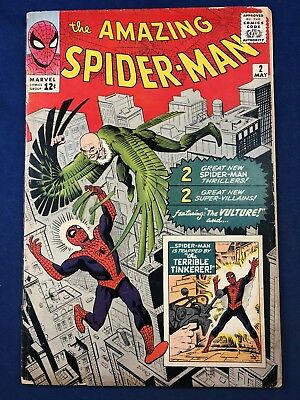 Amazing Spider-Man #2 (1964 Marvel) 1st appearance of the Vulture Silver Age