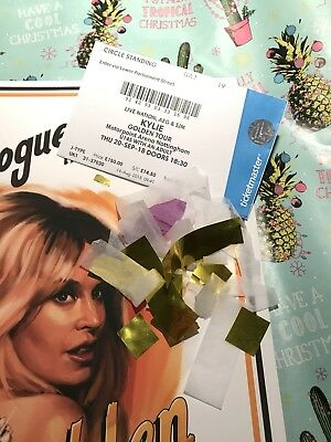 KYLIE MINOGUE GOLDEN TOUR PROGRAMME RARE WILL POST OVERSEAS Available Now!!
