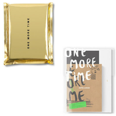 SUPER JUNIOR [ONE MORE TIME] Special Mini Album CD+POSTER+Photo Book+Card SEALED
