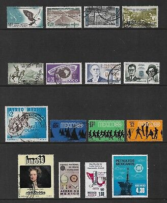 MEXICO mixed Air Mail collection, 1960-1978 Airmail, used