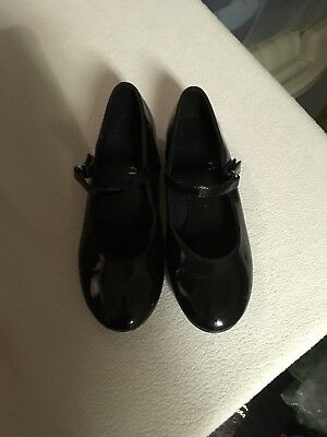 ABT American Ballet Theatre Girls Mary Jane Tap Dance Shoes ~ Size 13 NEW