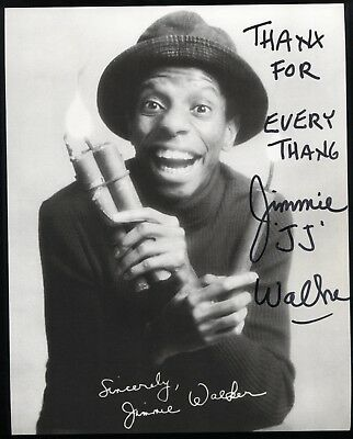 Jimmie Walker Signed 8x10 Inch Photo Vintage Autographed Signature Good Times