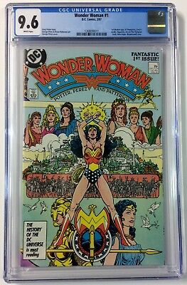 Wonder Woman #1 By George Perez CGC 9.6 Unread From Personal Collection