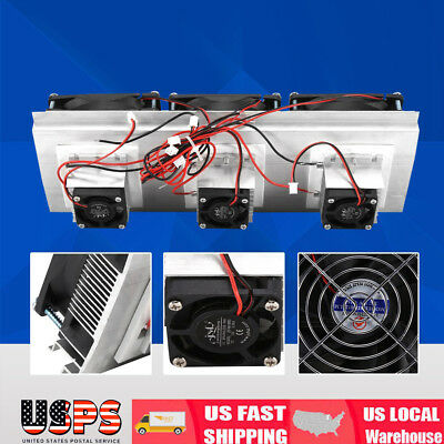 126W Semiconductor Refrigeration Thermoelectric Peltier Air Cooling Device
