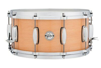 """Gretsch Silver Series Snare Drum in Natural Maple Finish 14 x 6.5"""""""