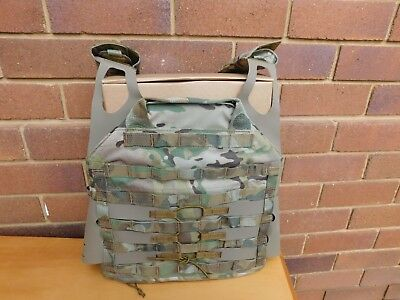 training plate carrier - multicam - fully adjustable